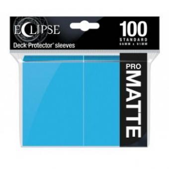 Ultra Pro Eclipse Kartenhüllen - Standardgröße reflexionsfrei (100) - Himmelblau