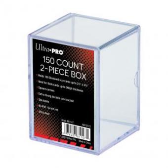 Ultra Pro Kartenbox 2-teilig 150+ - Transparent
