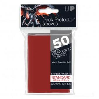 Ultra Pro Kartenhüllen - Standardgröße (50) - Rot