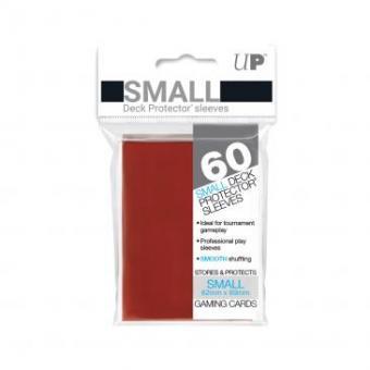 Ultra Pro Kartenhüllen - Japanische Größe (60) - Rot