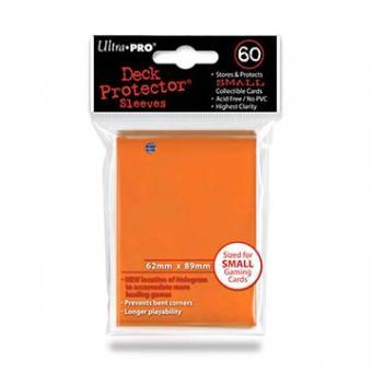 Ultra Pro Kartenhüllen - Japanische Größe (60) - Orange