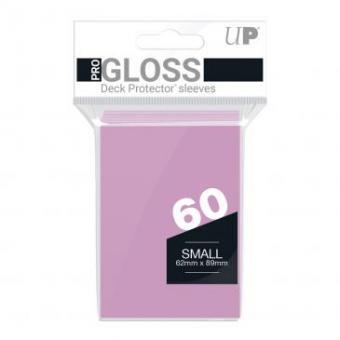 Ultra Pro Kartenhüllen - Japanische Größe Gloss (60) - Pink