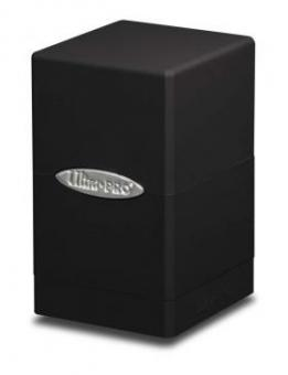Ultra Pro Satin Tower Box 100+ - Schwarz