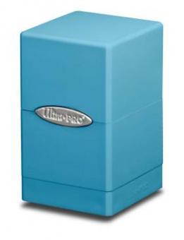 Ultra Pro Satin Tower Box 100+ - Hellblau