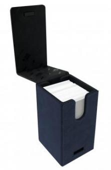 Ultra Pro Alcove Tower Deckbox 100+ - Suede Collection - Saphir