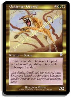 Gehörnter Gepard