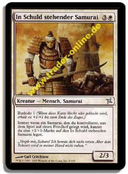In Schuld stehender Samurai