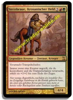 Steinbraue, Krosanischer Held