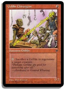 Goblin Chirurgeon (3 Motive verfügbar)