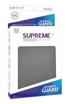 Ultimate Guard Supreme UX Kartenhüllen - Japanische Größe (60) - Dunkelgrau