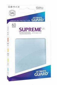 Ultimate Guard Supreme UX Kartenhüllen - Japanische Größe (60) - Transparent