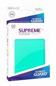 Ultimate Guard Supreme UX Kartenhüllen - Japanische Größe (60) - Türkis
