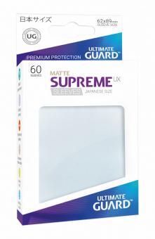 Ultimate Guard Supreme UX Kartenhüllen - Japanische Größe reflexionsfrei (60) - Frosted (Matte)