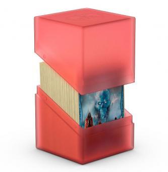 Ultimate Guard Box - Boulder Deckbox 100+ - Rubin