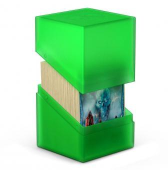 Ultimate Guard Box - Boulder Deckbox 100+ - Smaragd