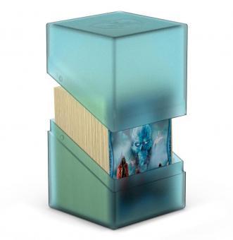 Ultimate Guard Box - Boulder Deckbox 100+ - Malachit