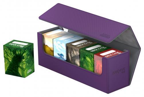 Ultimate Guard Box - Arkhive 400+ - XenoSkin Violett