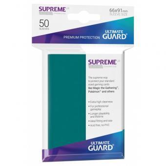 Ultimate Guard Supreme UX Card Sleeves - Standard Size (50) - Petrol