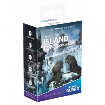 Ultimate Guard Motivhüllen - Standardgröße (100) - Lands Edition ll Insel