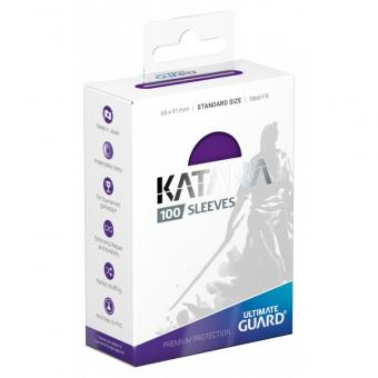 Ultimate Guard Katana Kartenhüllen - Standardgröße (100) - Violett