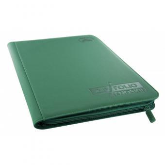 Ultimate Guard Binder - Zipfolio 18-Pocket - XenoSkin Grün