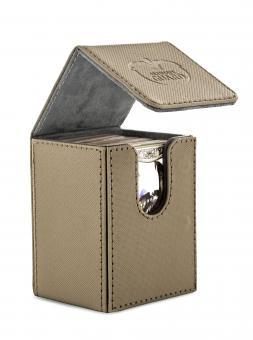 Ultimate Guard Box - Flip Deckbox 80+ - XenoSkin Sand