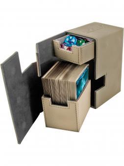 Ultimate Guard Box - Flip'n'Tray 80+ - XenoSkin Sand