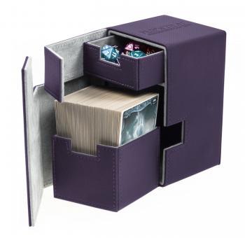 Ultimate Guard Box - Flip'n'Tray 100+ - XenoSkin Violett