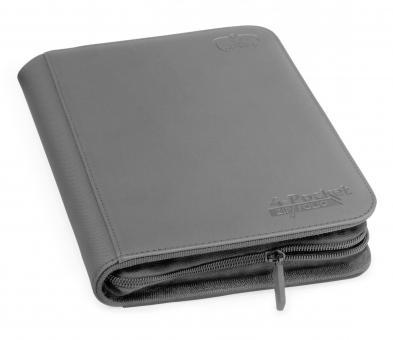 Ultimate Guard Binder - Zipfolio 4-Pocket - XenoSkin Gray