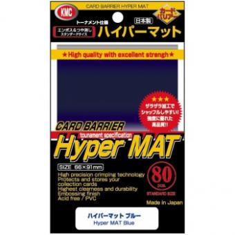 KMC Kartenhüllen - Standardgröße reflexionsfrei (80) - Hyper Mat Blau