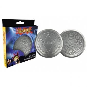 Fanattik Yu-Gi-Oh! Metall-Untersetzer (4)