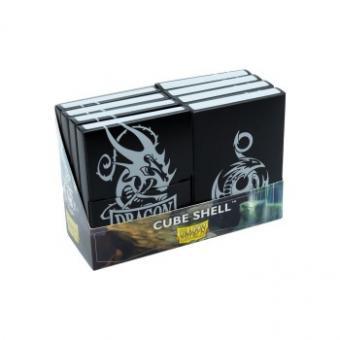 Dragon Shield Cube Shell 20+ - Black (8)
