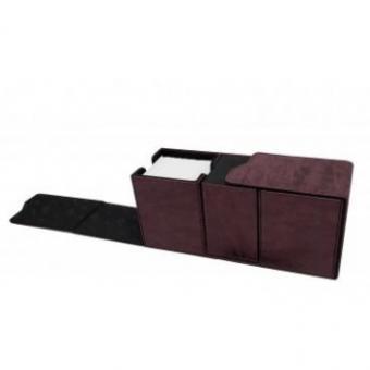 Ultra Pro Alcove Vault Deckbox - Suede Collection - Rubin