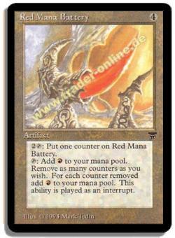 Red Mana Battery, ital.