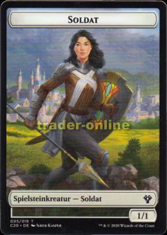Spielstein - Soldat (1/1)