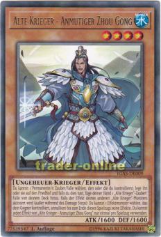 Alte Krieger - Anmutiger Zhou Gong