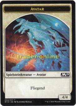Spielstein - Avatar (4/4 Fliegend)