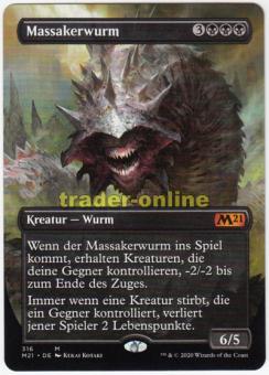 Massakerwurm (Full-Art Artwork)
