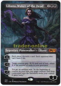 Liliana, Waker of the Dead (Full-Art Artwork)
