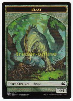 Token - Beast (Green 4/4)