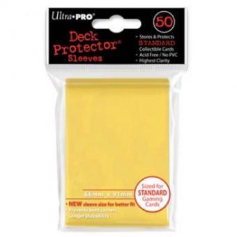 Ultra Pro Kartenhüllen - Standardgröße (50) - Gelb
