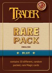 Rare-Pack blau englisch