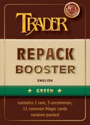 Repack-Booster grün englisch
