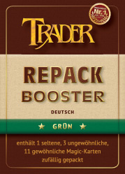 Repack-Booster grün deutsch