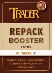 Repack-Booster weiss deutsch