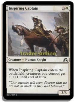 Inspiring Captain