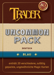 Uncommon-Pack blau deutsch
