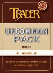 Uncommon-Pack weiss englisch