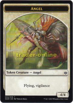 Token - Angel (4/4 Flying, Vigilance)