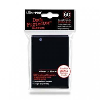 Ultra Pro Kartenhüllen - Japanische Größe (60) - Schwarz